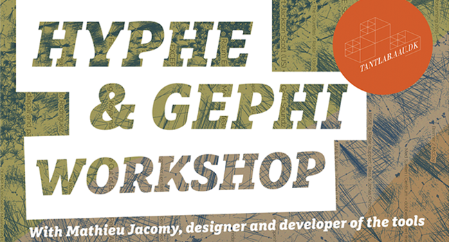 Invitation to TANT-Lab Outing: Exploring the Web - Hyphe Workshop